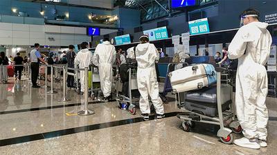 2021年6月5日,內政部公布數據顯示,並未出現大批民眾搭機赴中打疫苗。